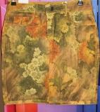 Zac & Zoe Wende-Rock gelb/orange mit Blumen