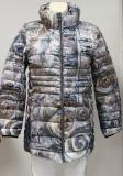 Dolcezza Jacke lang Farbe stein/grau/blau/beige