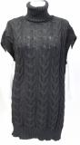 Be`lieve Strickpullover/-kleid mit Rollkragen, ohne Arm Farbe schwarz