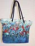 Shopper/Strandtasche Dolzecca blau/bunt
