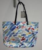Shopper/Strandtasche Dolzecca weiß/pastell