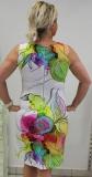 Dolcezza Kleid ohne Arm Farbe weiß