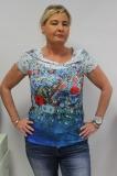 Dolcezza T-Shirt weiß/blau/bunt