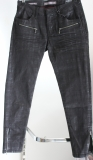 Blue Fire Damen-Jeans Alicia black check super tight