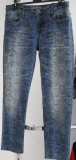 Blue Fire Damen-Jeans Nancy snake denim blue super tight