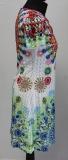 Sommerkleid 101 Idees Art. Nr. N6330 weiß/bunt